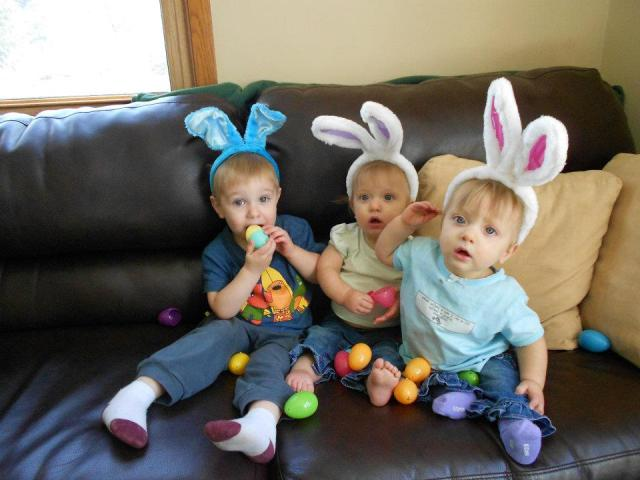 Bunny ears on kids has to be one of the cutest things to ever grace this planet.