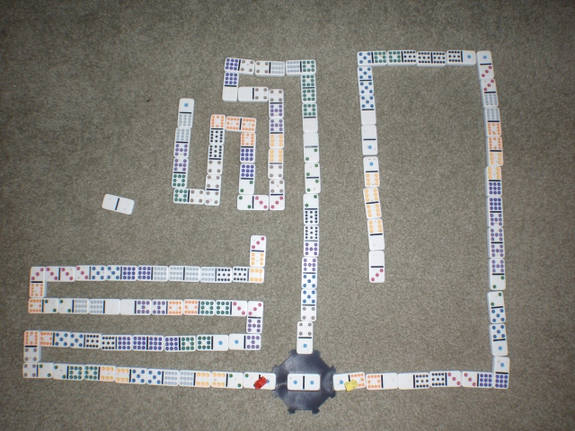 And this, ladies and gentlemen, is how you play the perfect game of Mexican Train Dominoes. BOO-YA!